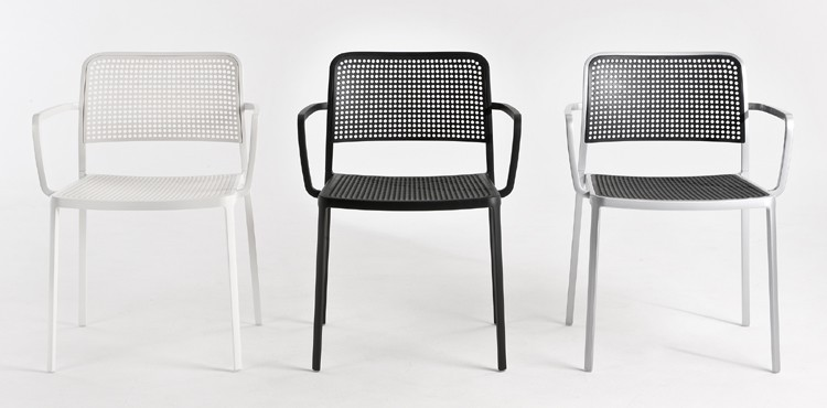 Audrey chair from Kartell, designed by Piero Lissoni