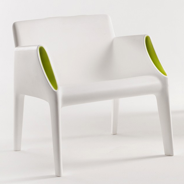 Magic Hole Chair sofa from Kartell, designed by Philippe Starck