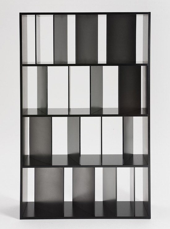 Sundial bookcase from Kartell, designed by Nendo