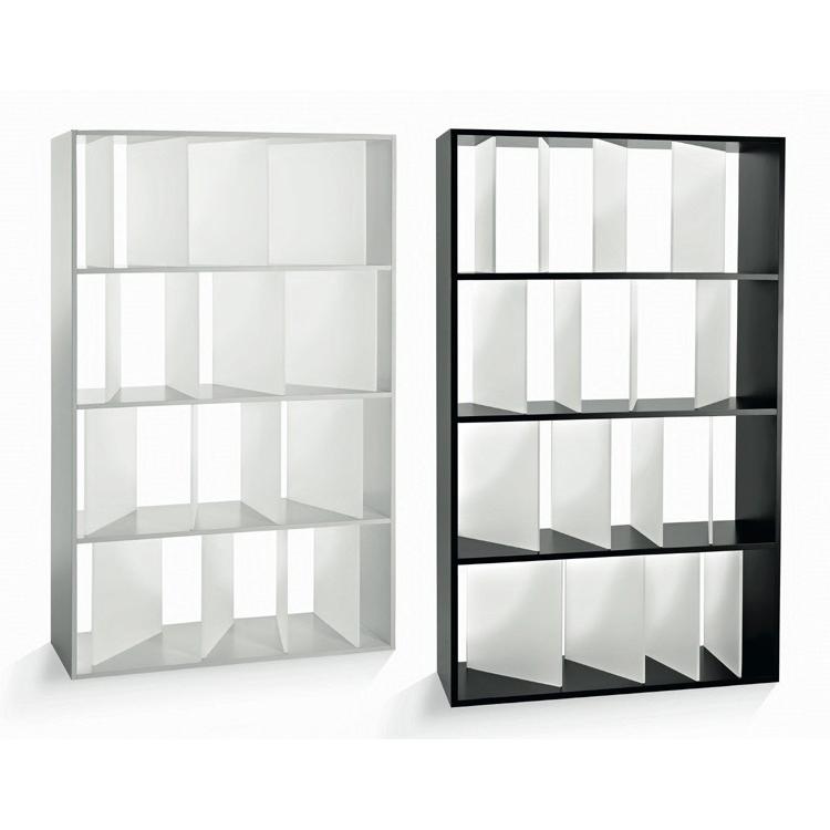 Sundial bookcase from Kartell, designed by Nendo