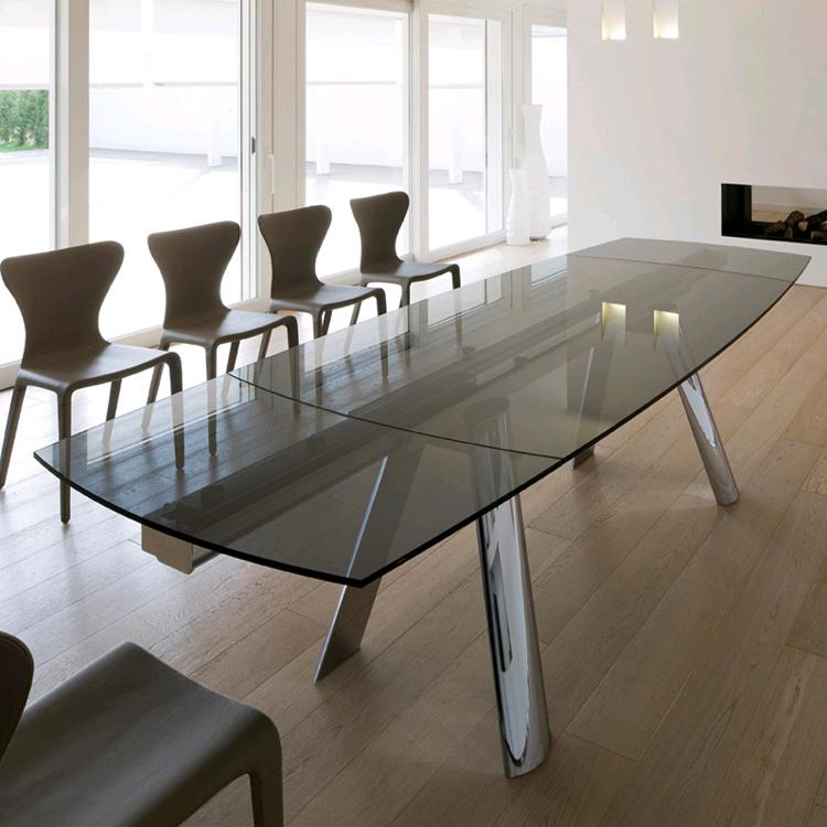 Antonello Italia Infinity Glass Dining Table