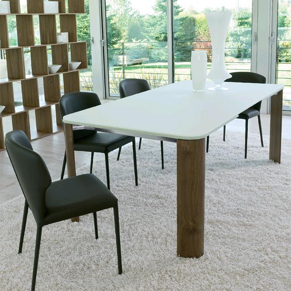 Arthur B dining table from Antonello Italia, designed by Gino Carollo