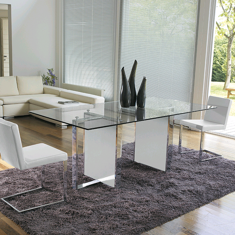 Free, dining table from Antonello Italia, designed by Gino Carollo