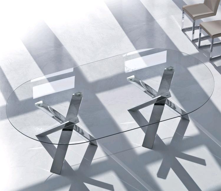 Twin Resort dining table from Antonello Italia, designed by Gino Carollo