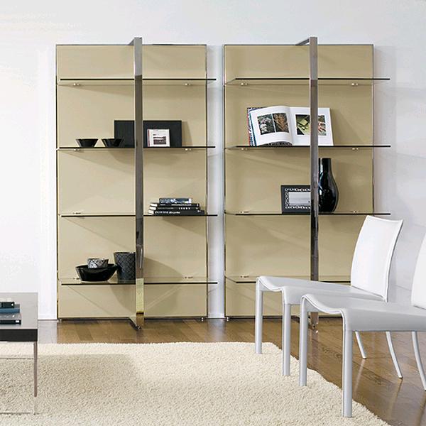 Gil, bookcase from Antonello Italia, designed by Gino Carollo