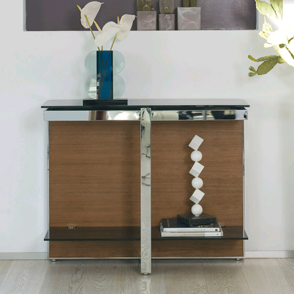 Manta console table from Antonello Italia, designed by Gino Carollo
