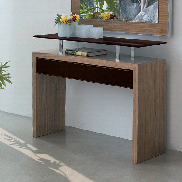Ade console table from Antonello Italia, designed by Gino Carollo