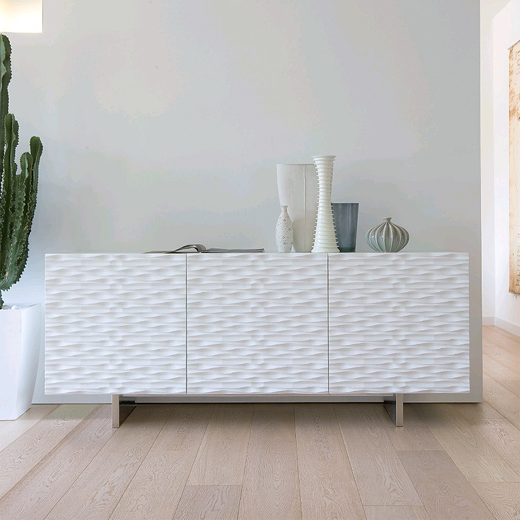 Aura180 cabinet from Antonello Italia, designed by Gino Carollo