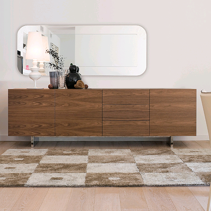 Aura240 cabinet from Antonello Italia, designed by Gino Carollo