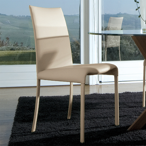 Vanity chair from Antonello Italia, designed by Gino Carollo