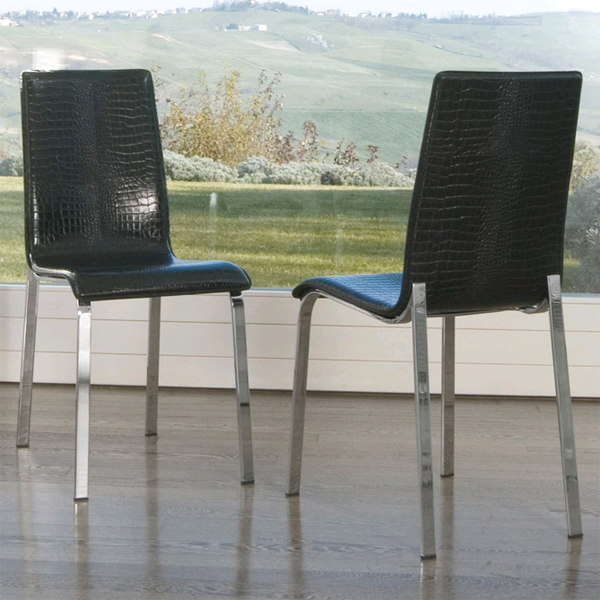 Mary, chair from Antonello Italia, designed by Gino Carollo