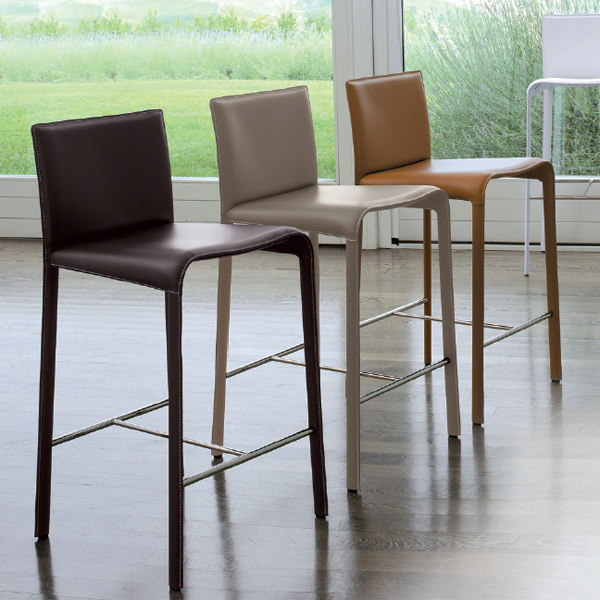 Rey, stool from Antonello Italia, designed by Gino Carollo