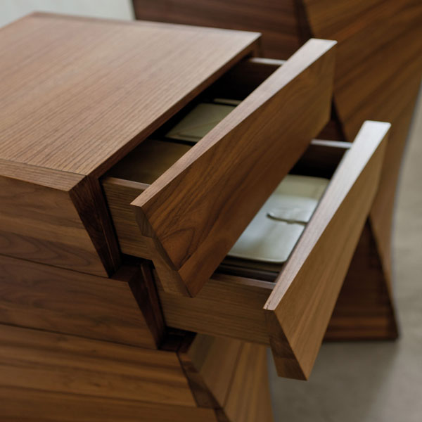 Piroette storage from Porada, designed by Archem