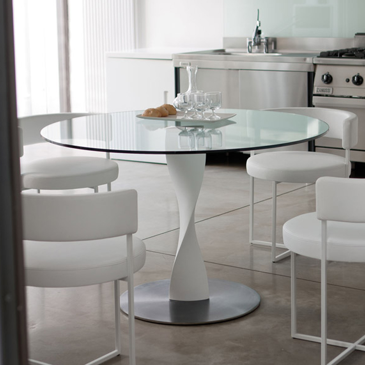 Porada Spin Glass Dining Table
