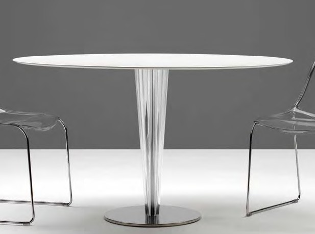 Krystal dining table from Pedrali, designed by Pedrali R&D