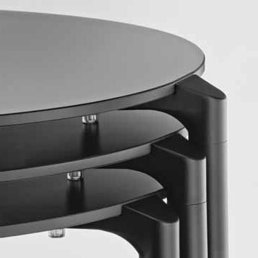 Jump dining table from Pedrali