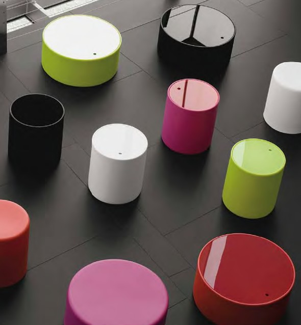 Wow stool from Pedrali