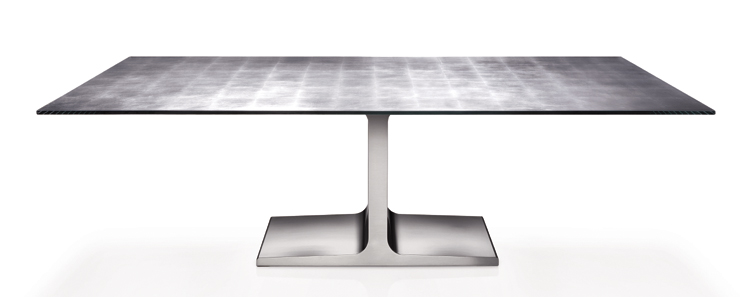 Palace dining table from Sovet, designed by Lievore Altherr Molina