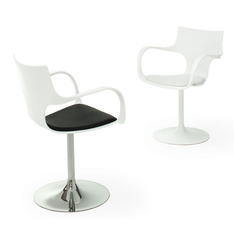 Flute Girevole chair from Sovet