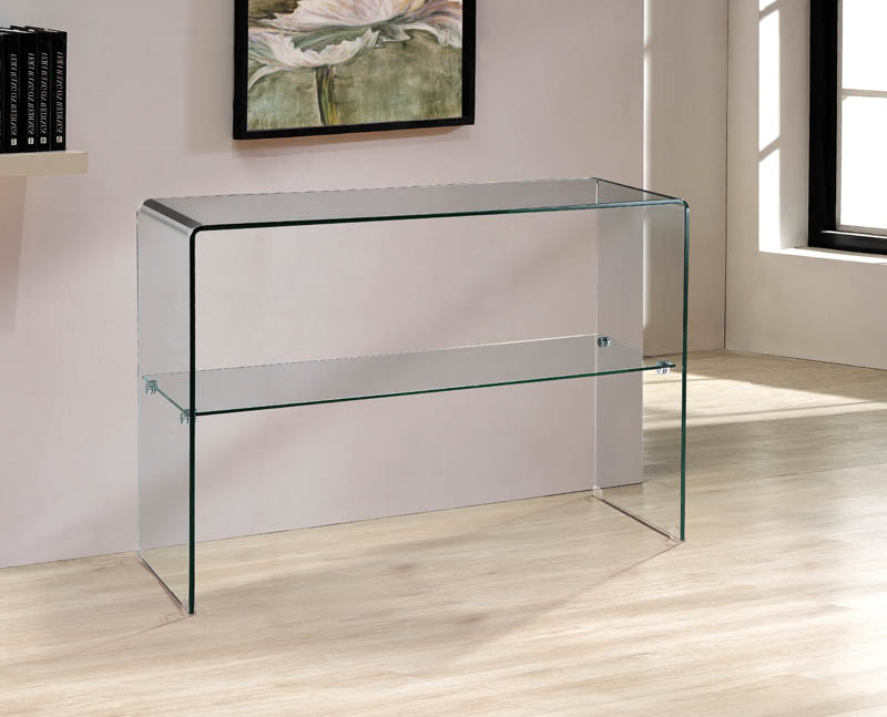 Arch Console with Shelf table from Viva Modern