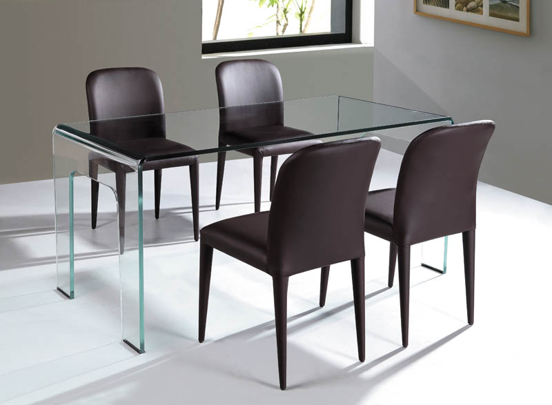 Cristallo Dining Table/Desk from Viva Modern