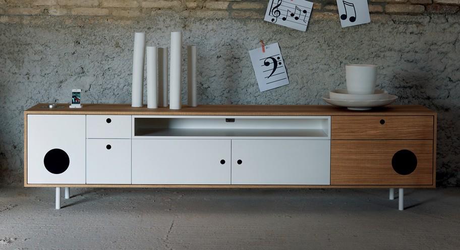 Caixa XL, cabinet from Miniforms