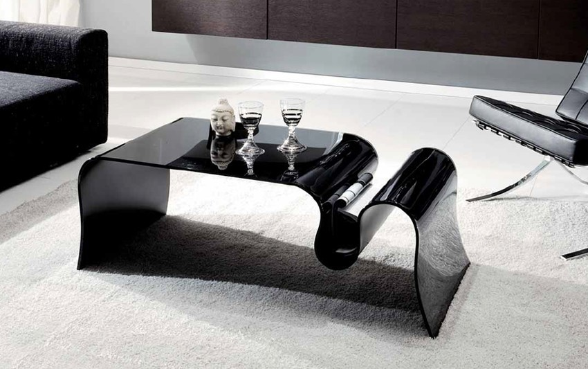 Boa coffee table from Unico Italia
