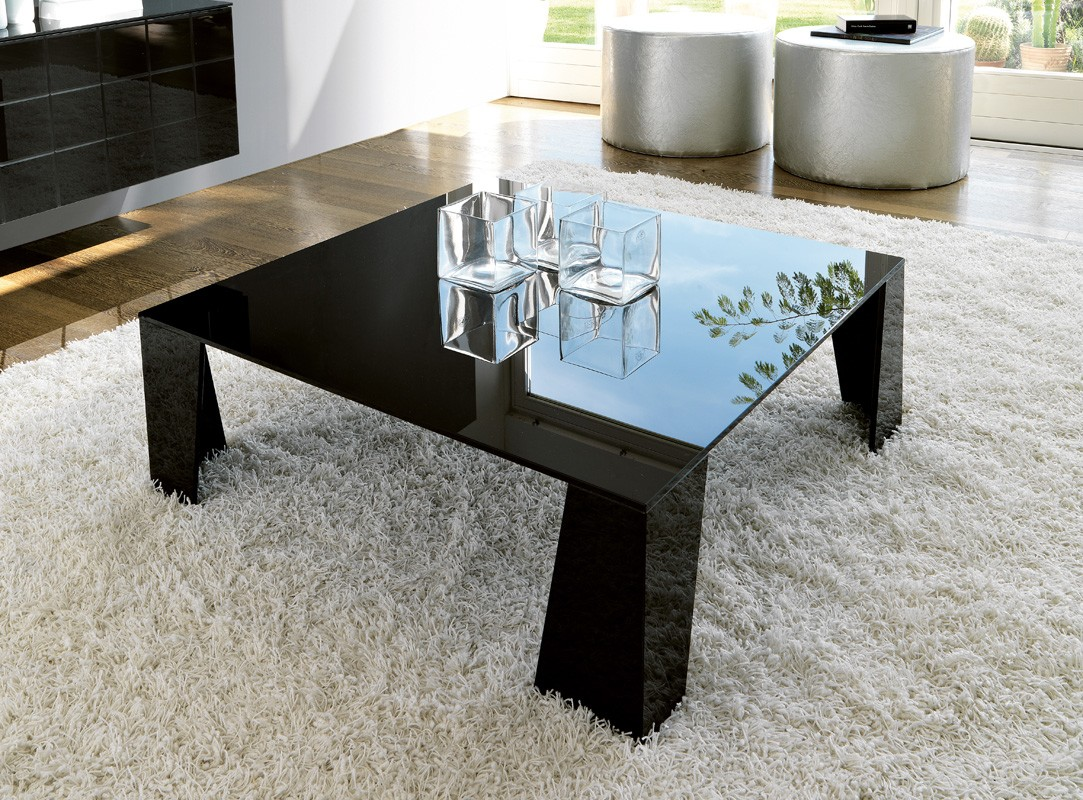 Double coffee table from Unico Italia