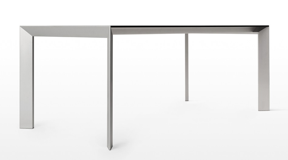 Nori Alucompact dining table from Kristalia, designed by Bartoli Design