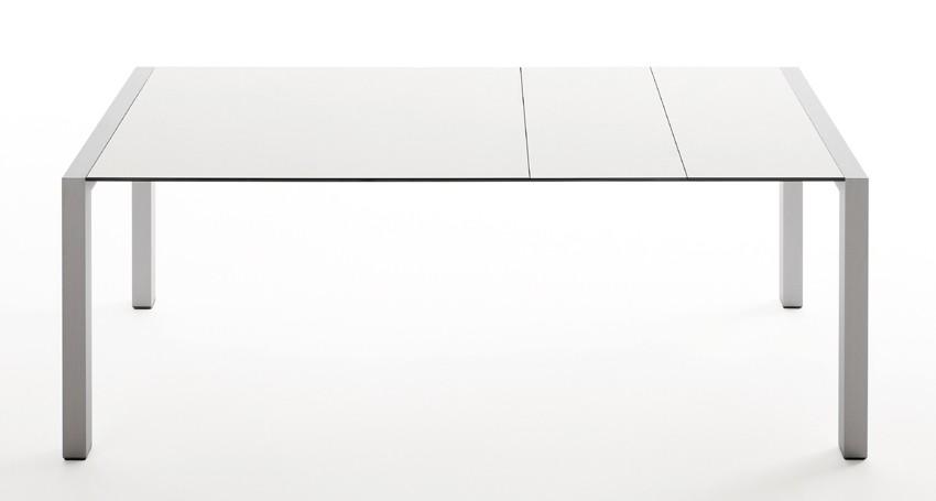 Sushi Alucompact dining table from Kristalia, designed by Bartoli Design