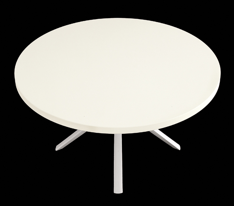 Oops Lacquered dining table from Kristalia, designed by Monica Graffeo