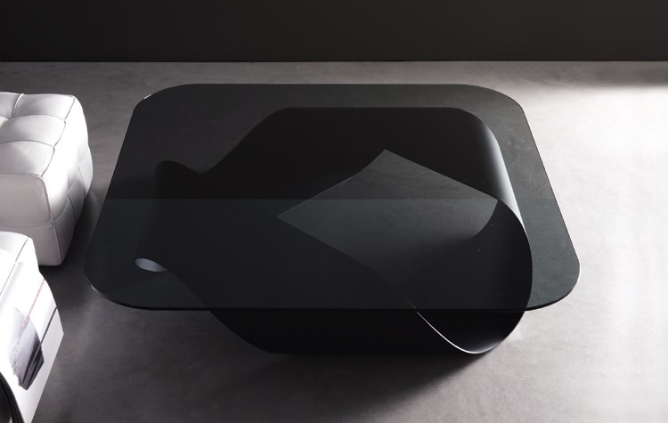 Mobius, coffee table from Kristalia