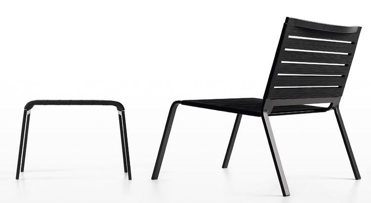 Rest Lounge Chair from Kristalia, designed by Harry-Paul