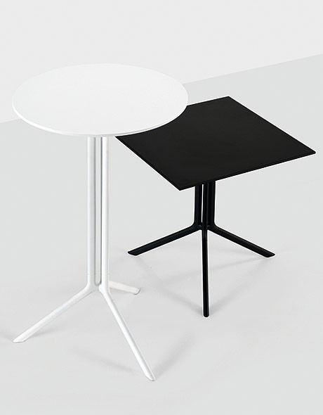 Poule, bar table from Kristalia