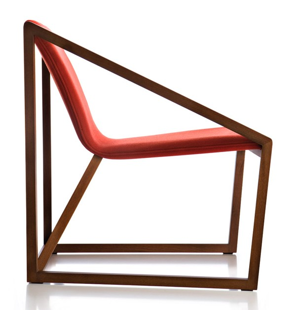 Kite Lounge KIL201 chair from Fornasarig