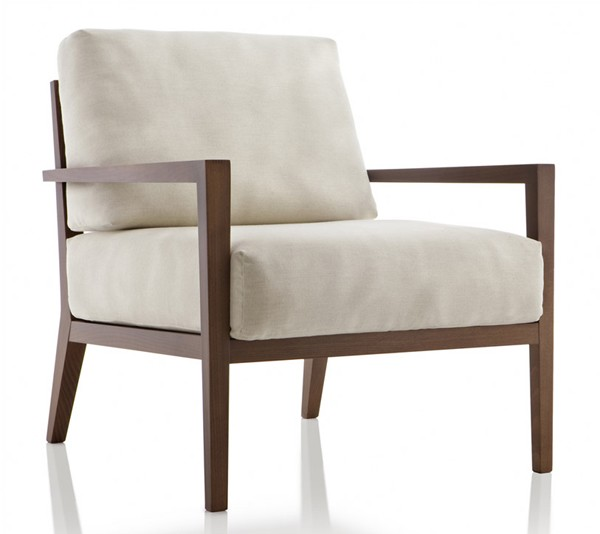 Eos EOL231 lounge chair from Fornasarig