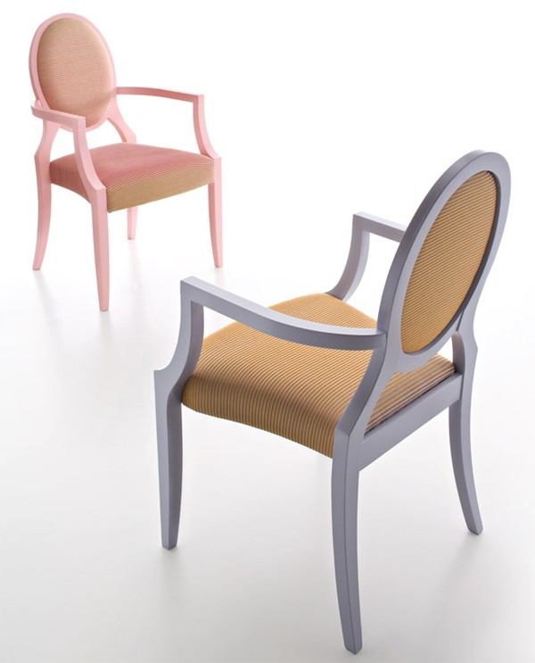 Giubileo GII102, chair from Fornasarig