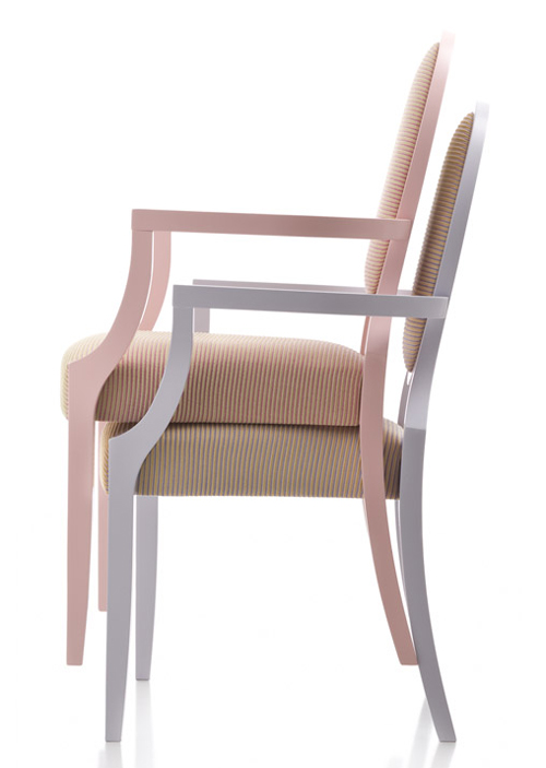 Giubileo GII102 chair from Fornasarig, designed by Luca Fornasarig