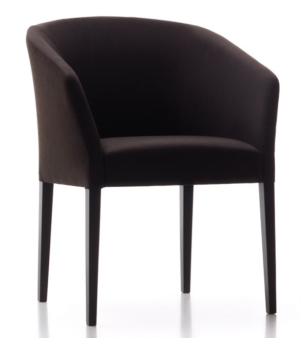 Tulip TUS201 lounge chair from Fornasarig, designed by Luca Scacchetti