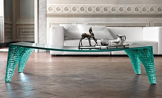 Atlas Tavolo Basso coffee table from Fiam, designed by Danny Lane