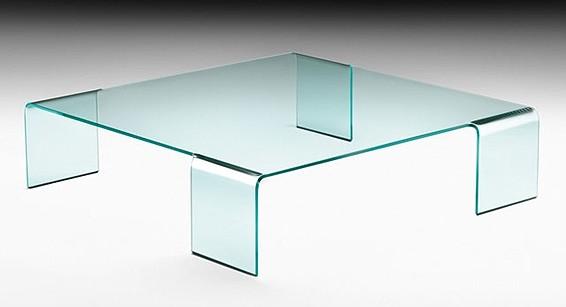 Neutra coffee table from Fiam, designed by Rodolfo Dordoni