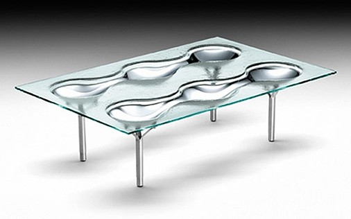 Konx coffee table from Fiam