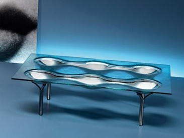 Konx, coffee table from Fiam