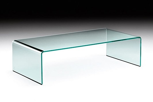Rialto coffee table from Fiam, designed by CRS Fiam