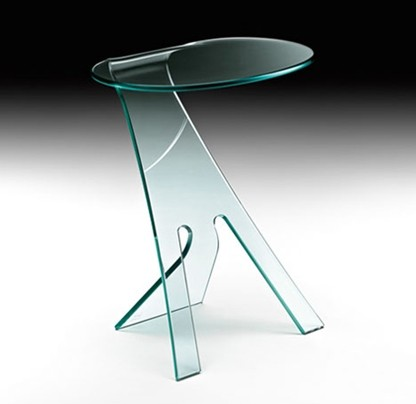 Grillo, end table from Fiam