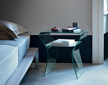 Charlotte de Nuit end table from Fiam
