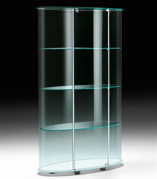 Palladio Uno cabinet from Fiam, designed by Vittorio Livi