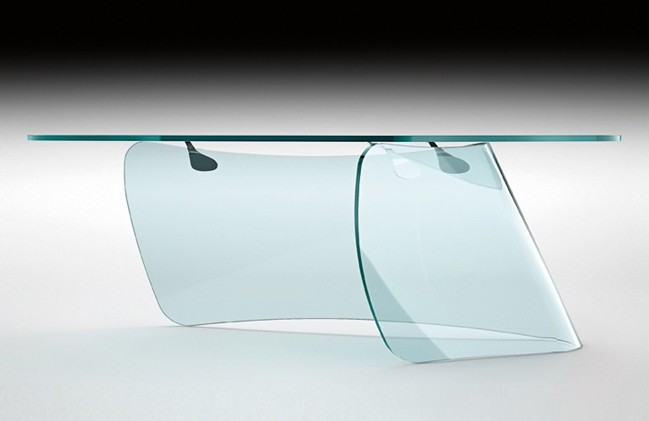 Graph desk from Fiam, designed by Xavier Lust