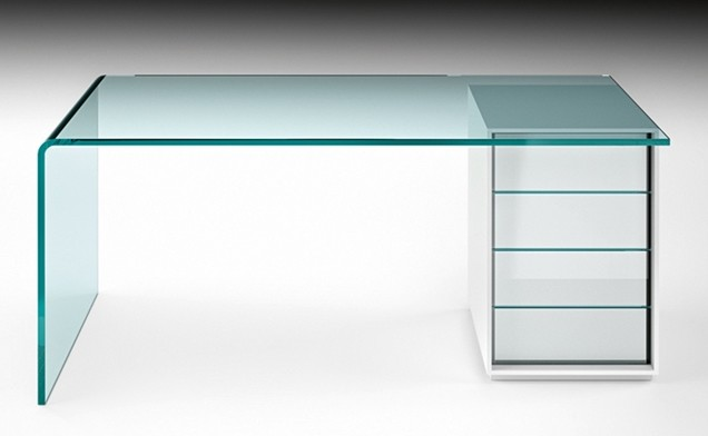 Rialto L desk from Fiam