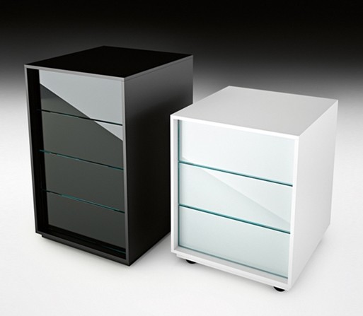 Luminare Cassettiere cabinet from Fiam, designed by Roberto Paoli